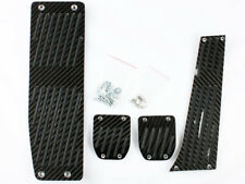 For BMW E46 SEDAN COUPE Black Carbon Pedals Set MT MANUAL LHD M Sport ZHP 4PCS