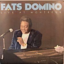 """FATS DOMINO """"Live at Montreux"""" Vinyl LP - 1987 Atlantic A1 81751-1 VG+ / EX"""