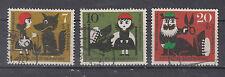 BRD Briefmarken 1960 Rotkäppchen Mi.Nr.340-342