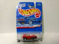 Hot Wheels 1998 First Editions Red Cat-A-Pult Mattel 1:64 Scale Diecast mb1902