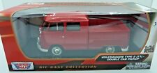 MOTOR MAX 1/24 PLATINUM COLLECTION VOLKSWAGEN TYPE 2 DOUBLE CAB PICKUP