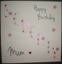 PERSONALISED HANDMADE BIRTHDAY CARD 30TH 40TH 50TH 60TH 70TH 80TH 90TH MUM GRAN