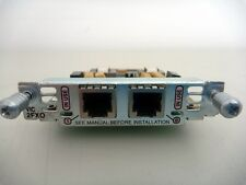 Cisco VIC-2FXO 2-port Voice Card 2600 2600XM 3600 3700