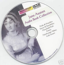 Jane Austen - audio book Collection Mp3 DVD 9 Titles
