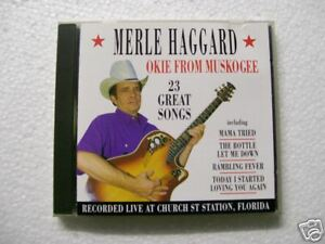CD MERLE HAGGARD - OKIE FROM MUSKOGEE - '96 - 25 BRANI!