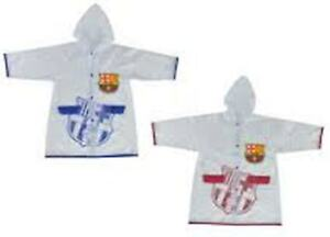 F.C. BARCELONA - PVC Raincoat - for Children ages 4 Years / 8 Years