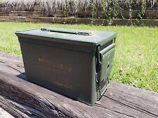 U.S. Military  Ammo Box Can