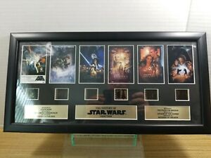 Star Wars The History Of Star Wars Special Edition Montage Film Cell Art