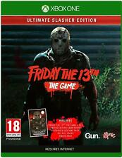 Friday the 13th - The Game Ultimate Slasher Edition For Xbox One (New & Sealed)