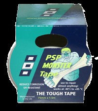 """NAUTOS -  Monster Tape - The Tough Tape - 3"""" x 5' - For all repairs - PSP Tapes"""