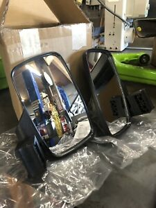 """SuperATV Heavy Duty Side View Mirrors Fits 2"""" Roll Cages Polaris Can Am"""