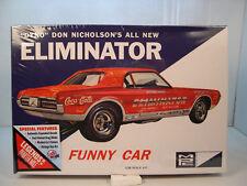 DYNO DON NICHOLSON MERCURY COUGAR FUNNY CAR MPC 1:25 SCALE PLASTIC MODEL CAR KIT