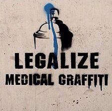 "2"" Legalize Medical Graffiti Street Art Spray Paint Stencil Bumper Skate Sticker"