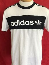 Vintage Adidas classic break dancing 1980s style T-shirt size medium 3D