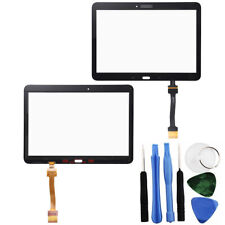 Touch Screen Digitizer Black For Samsung Galaxy Tab 4 10.1 + Adhesive + Tools