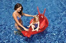 Kids Lobster Seat Pool Inflatable Float Mat Mesh Insert Swimline 90315 NEW