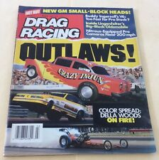 Mar 1987 Drag Racing Magazine New GM Small-Block Heads !