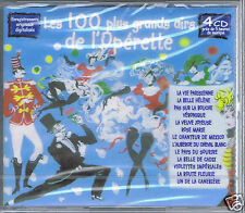 4 CDs (NEUF )100 GRANDS AIRS D'OPERETTE
