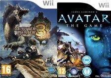 monster hunter 3 tri & avatar the game     wii  pal