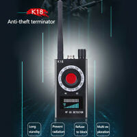 K18 Full-Range Finder GSM Detector RF Signal Radio Wave Privacy Protect  S8
