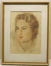 Originalzeichnungen (ab 1950) aus Europa mit Porträt- & Persönlichkeiten-Motiv