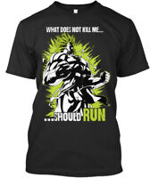 Broly - What Does Not Kill Me Should Run Premium Tee T-Shirt