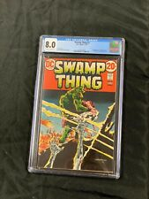 Swamp Thing #3 Cgc 8.0 1st App of Patchwork Man & Abigail Arcane Wrightson