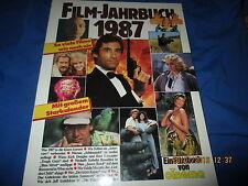 CINEMA  FILM - JAHRBUCH 1987 , FILM -  KINO - Buch / Bildband , für Sammler // A