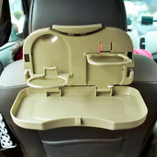 Folding Auto Car Back Seat Table Drink Food Cup Tray Rack Holder Stand Desk