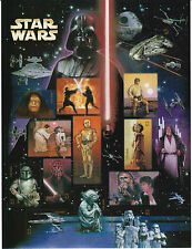 30 Years STAR WARS StarWars US USA Postage Plate 15 Stamp 41c MNH 2007 Lucasfilm