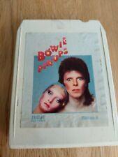 8-track 8 track tape cassette cartridge DAVID BOWIE  PIN UPS 1973