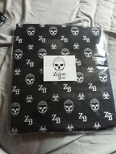ZOMBIE Zomby BOY BLACK CURATAINS TAB TOP 168 X 137 CM