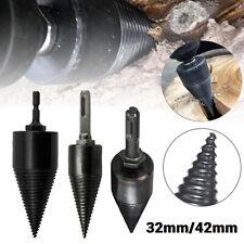 6 Sizes High Speed Twist Firewood Drill Bit Wood Splitter Screw Splitting New