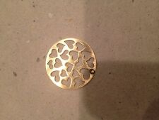 Large (new) Heart Cut-Out (Gold) Origami Owl Living Locket Plates