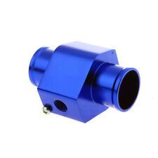 32mm Blue mechanical water temp gauge Joint Pipe Sensor Radiator Hose Adapter