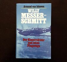 WILLY MESSERSCHMITT, Armand van Ishoven, 1st ed., HC/DJ Like New! (Nazi Germany)