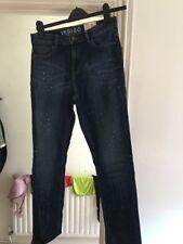 BNWT Marks and Spencer Indigo Size 12 Dark Denim Jeans (h4)