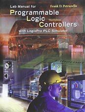 LogixPro Simulation Lab/Exercises Manual by Frank D. Petruzella, 3rd Edition