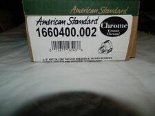 "American Standard 1660.400.002 1/2"" NPT In-Line Vacuum Breaker Polished Chrome"