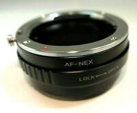 Minolta AF DT Lens to Sony E Camera mount adapter NEX 5R 5N ILCE a3100 a6300