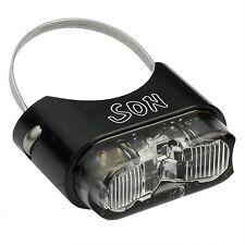 SON LED Rücklicht für Sattelstütze mit Standlicht StVZO Zulassung schwarz / klar
