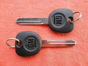 2 HUMMER H2 GM OEM KEY BLANKS 2003 2004 2005 2006 2007
