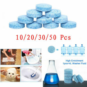 10-100Car Solid Wiper Effervescent Tablet Cleaner Auto Windshield Glass Cleaning