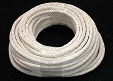 COTTON SASH CORD ROPE 8mm x 25m. FREE POSTAGE AUST WIDE