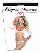Sexy Lingerie Nurse Cosplay Costume Outfits Halloween Heartbreaker One Size $46