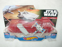 STAR WARS HW STARSHIPS FIRST ORDER TRANSPORTER vs. RESISTANCE X-WING FIGHTER NEW