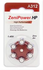 ZeniPower Hearing Aid Batteries (30 Batteries) SIZE 312