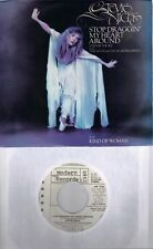 STEVIE NICKS  Stop Draggin' My Heart Around  promo 45 with PicSleeve  TOM PETTY