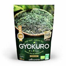 Aromandise - Thé Vert Gyokuro bio - Stimulant - Sachet vrac 50g