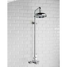 Traditional Single Exposed Thermostatic Mixer Shower Valve Victorian Edwardian
